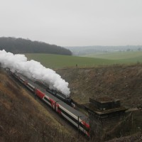 The Flying Scotsman at Lockley Farm